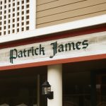 Redwood sign for Patrick James.