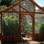 Outdoor garden house.