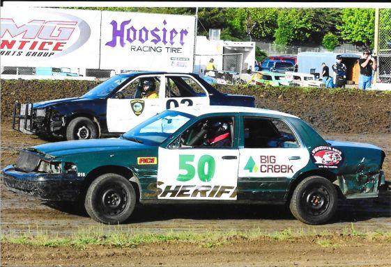 Big Creek sponsored car races.