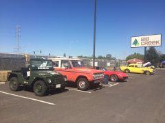 Car show at Big Creek Lumber.